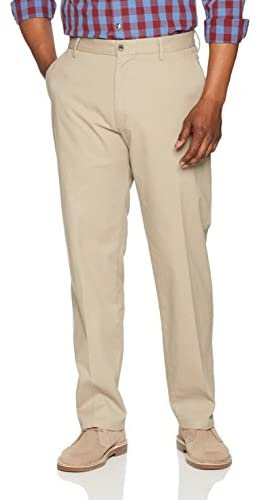 Read more about the article Amazon Essentials Men's Classic-Fit Wrinkle-Resistant Flat-Front Chino Pant