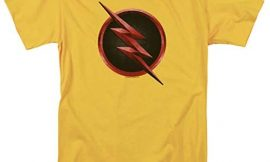 The Flash TV Series Reverse Flash Logo T Shirt & Stickers