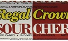 Regal Crown Hard Candy Rolls – Sour Cherry 24 ct by Iconic Candy
