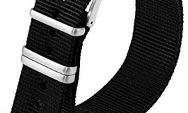 Genuine Luminox Replacement Band/Webbing Strap for Series 3500-24 mm Black
