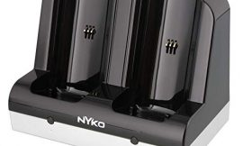 Nyko Charge Station – 2 Port Controller Charging Station with 2 Rechargeable Battery Packs for Wii and Wii U