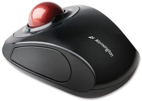 """Kensington, Orbit Wireless Mobile Trackball Trackball Wireless 2.4 Ghz Usb Wireless Receiver """"Product Category: Computer Components/Mice & Pointing Devices"""""""
