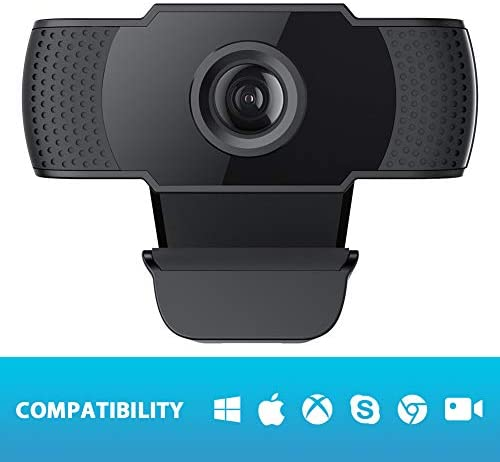 (Fulfilled by Amazon) 1080P FHD Webcam with Sony Sensor, Noise Reduction Microphone, PC Laptop Desktop USB Webcams, Streaming Computer Camera for Video Calling, Conferencing, Gaming