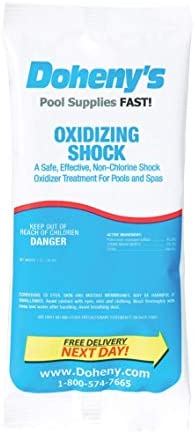Doheny's Chlorine Free – Oxidizing Shock -24 lbs. (1lb. Packets)