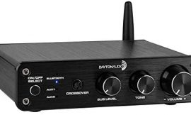 Dayton Audio DTA-2.1BT2 100W 2.1 Class D Bluetooth Amplifier with Sub Frequency Adjustment