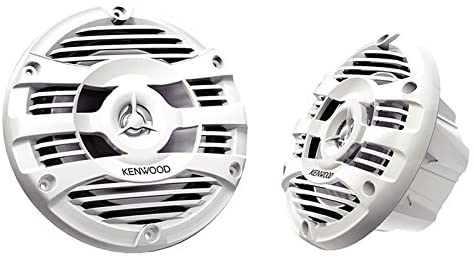 Kenwood KFC-1653MRW 6.5″ 2-Way Marine Speakers Pair (White)