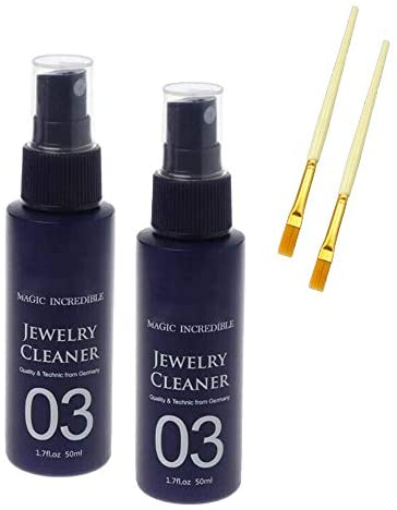 Instant Shine Jewelry Cleaner Quick Gem Jewelry Cleaner Anti-Tarnish for Diamond Silver Gold Jewelry