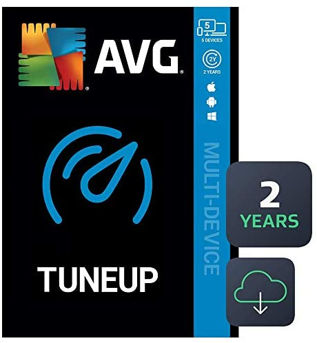 AVG TuneUp 2020   5 Devices, 2 Years [PC/Mac/Mobile Download]