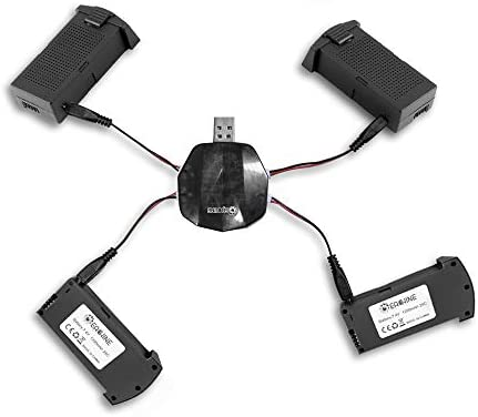 EACHINE E520 RC Drone Quadcopter Spare Parts 3-in-1 Charger with Batteries Combo