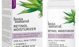 InstaNatural Retinol Moisturizer Anti Aging Night Face Cream – Face & Neck Wrinkle Lotion – Reduce Appearance of Wrinkles, Dark Circles, Fine Lines & Acne – Vitamin C Hyaluronic Acid Complex – 3.4 oz