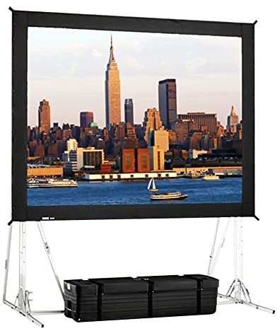 Black Portable Projection Screen Viewing Area: 18′ H x 24′ W