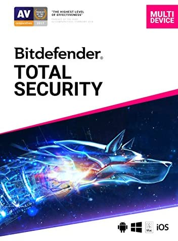 Bitdefender Total Security – 5 Devices   2 year Subscription   PC/Mac   Activation Code by email