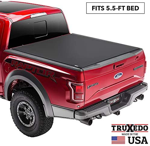 TruXedo Pro X15 Soft Roll Up Truck Bed Tonneau Cover | 1497601 | fits 09-14 Ford F-150  5'6″ bed