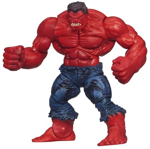 Marvel Universe Series 5 Action Figure #13 Red Hulk 3.75 Inch