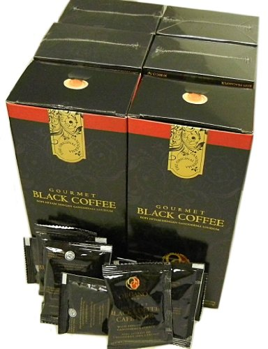 4 Boxes Organo Gold Gourmet Black Coffee 120 Sachets