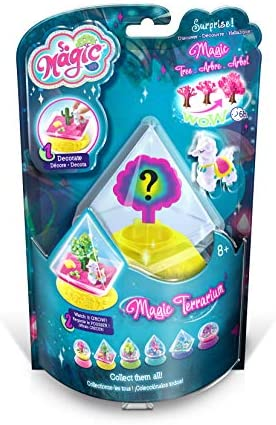 Canal Toys 001-LEISIRS CREATIFS-So Magic-Terrarium Kit, MSG 001, Blue, Pink