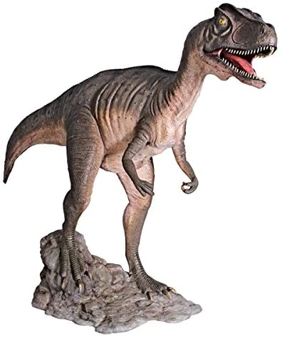 Design Toscano Jurassic Sized Attacking Allosaurus Dinosaur Statue