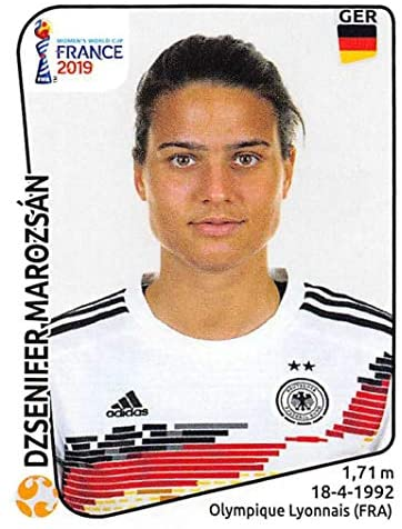 2019 Panini FIFA Women's World Cup France Stickers #109 Dzsenifer Marozsan Germany Soccer Sticker