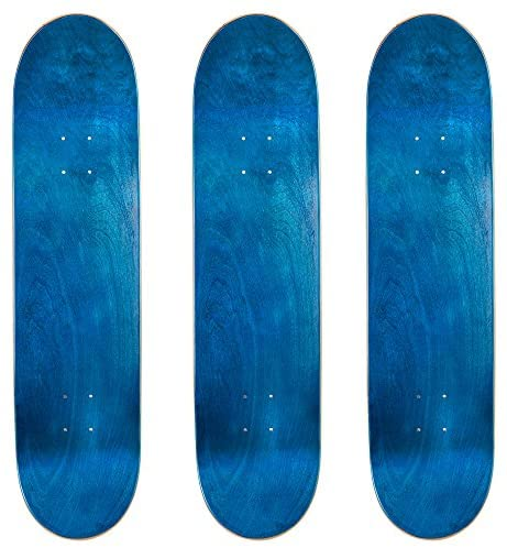 Cal 7 Blank Skateboard Decks, Set of 3