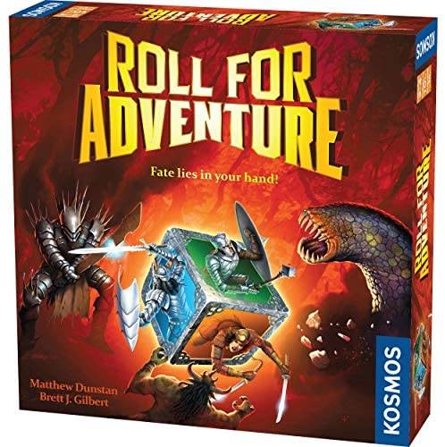 Roll for Adventure – A Kosmos Game from Thames & Kosmos   A Cooperative Dice-Rolling Fantasy Game for 2-4 Players, Ages 10+