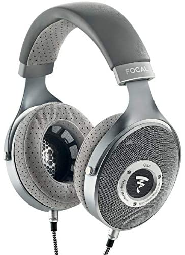 Focal Clear Over-Ear High-Resolution Audiophile Headphones (Gray) + Arche DAC