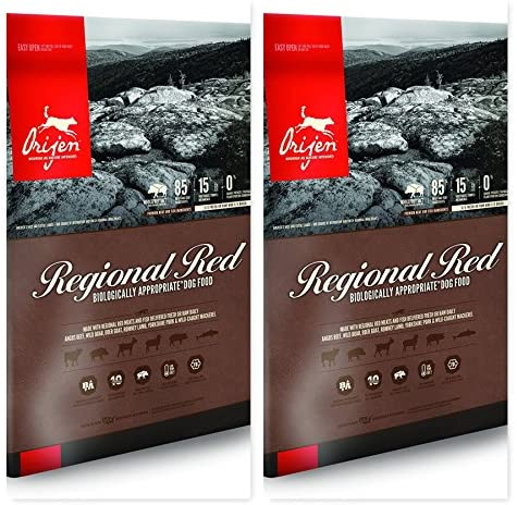 Orijen Regional Red Dry Dog Food Bundle (2) 13 lb. Bags to Keep Your Dogs Food Fresh Longer (2 Bags)