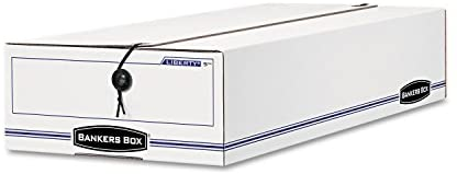 Bankers Box 00005 Storage File,Check Size,10-3/4-Inch x23-1/4-Inch x4-5/8-Inch,12/CT,WE/BE