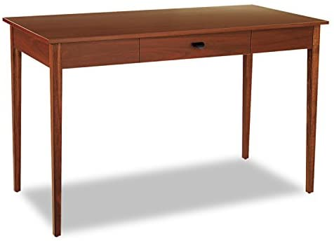 Safco Products 9446CY Apres Table Desk with Drawer, Cherry