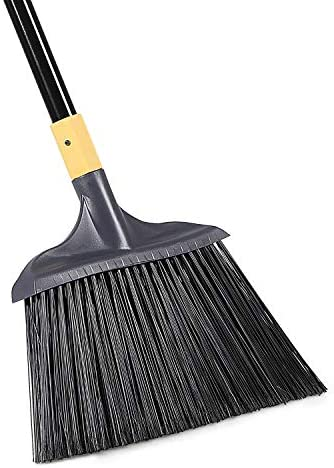 Yocada Heavy-Duty Broom Outdoor Commercial Perfect for Courtyard Garage Lobby Mall Market Floor Home Kitchen Room Office Pet Hair Rubbish 54Inch