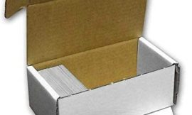 BCW 400-Count Storage Box For Trading Cards, 200 Pound Test Strength (1-Count )