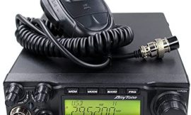 AnyTone AT-6666 10Meter Amateur CB moblie radio 40CH 60W High Power AM FM SSB Amateur Transceiver