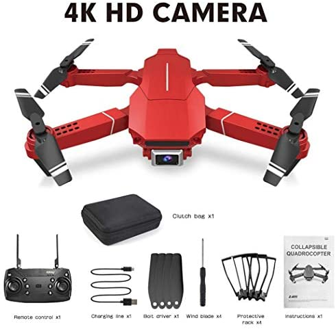 RIBITENS New Creative E98 Remote Controlled Quadcopter HD Camera Folding Drone Unmanned Aerial Vehicles (UAVs)