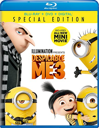 Despicable Me 3 Special Edition Blu-ray + DVD + Digital