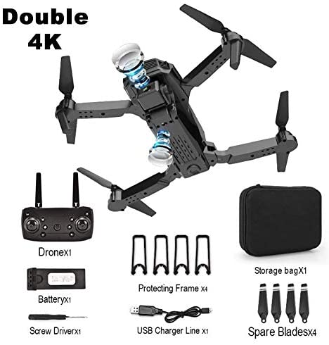 Rc Drone E98 Toy with Hd Camera 4K 1080P 720P Rc Drone Foldable Four-Axis Aircraft One-Click Return Mini Drone