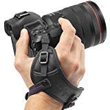 Camera Hand Strap – Rapid Fire Secure Grip Padded Wrist Strap Stabilizer by Altura Photo for DSLR and Mirrorless Cameras