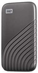 Western Digital 1TB My Passport SSD External Portable Drive, Gray, Up to 1050 MB/s – WDBAGF0010BGY-WESN