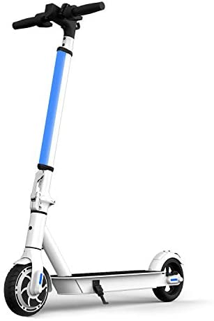 Hiboy S2 Lite Electric Scooter – 6.5″ Solid Tires – Up to 10.6 Miles Long-Range & 13 MPH Portable Folding Commuting Kick-Start Boost Scooter for Teens/Adults