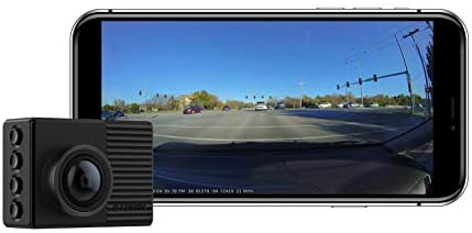 Garmin Dash Cam 66W, Extra-Wide 180-Degree Field of View In 1440P HD, 2″ LCD Screen and Voice Control, Very Compact with Automatic Incident Detection and Recording