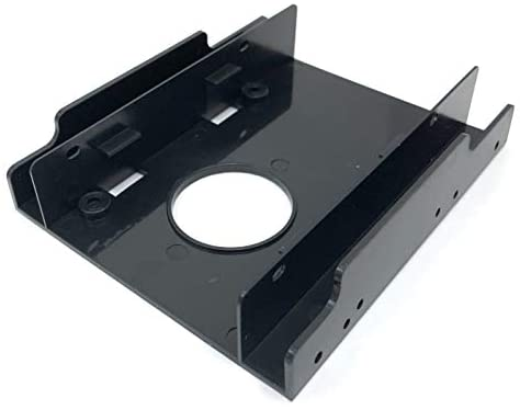 Micro Connectors Dual 2.5″ Plastic HDD/SSD Mounting Bracket Kit (L02-252)
