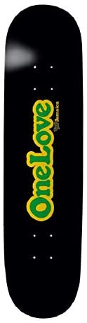 Thank You Skateboards Limited Edition Jamaica One Love Deck 8.25″ w/Free Mob Griptape