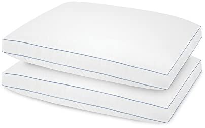 BioPEDIC Extra Firm Pillow for Side Sleepers, 2pk, King