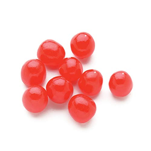 Sweet's Red Cherry Fruit Sours – Chewy Candy Ball 5lb Bag (Bulk)