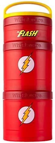 Whiskware Justice League Stackable Snack Pack, The Flash