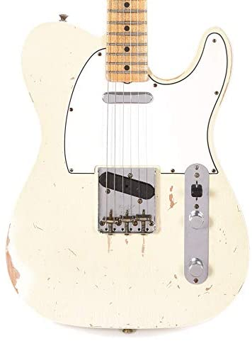 Fender Custom Shop 1967 Telecaster Relic Aged Olympic White Master Built by Dennis Galuszka