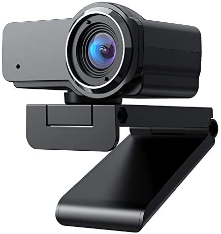 (Fulfilled by Amazon) 1080P FHD Webcam with Sony Sensor, Noise Reduction Microphone, PC Laptop Desktop USB Webcams, Streaming Computer Camera for Video Calling, Conferencing, Gaming (1080P FHD)