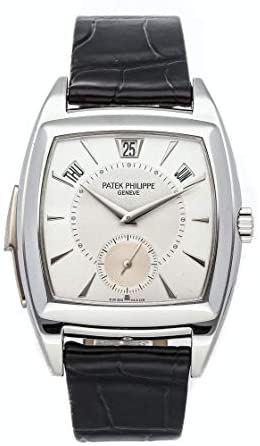 Patek Philippe Grand Complications Mechanical(Automatic) Silver Dial Watch 5033P-010 (Pre-Owned)