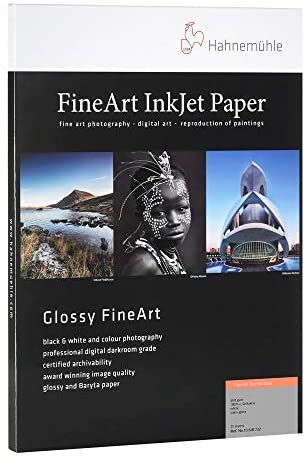Hahnemuhle Baryta Paper Satin 8.5×11 In, 25 sheets