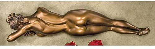 Design Toscano DB383059 Restless Beauty Wall Sculpture,bronze