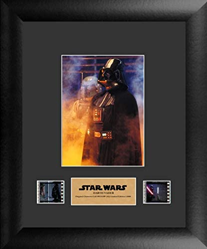 FilmCells – Star Wars Darth Vader the Dark Lord – Limited Edition Framed Wall Art Presentation with Certificate – 11×13 Collectible
