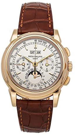 Patek Philippe Grand Complications Mechanical (Hand-Winding) Silver Dial Watch 5970R-001 (Pre-Owned)
